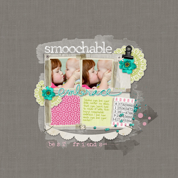 smoochable embrace by Melissa Hill