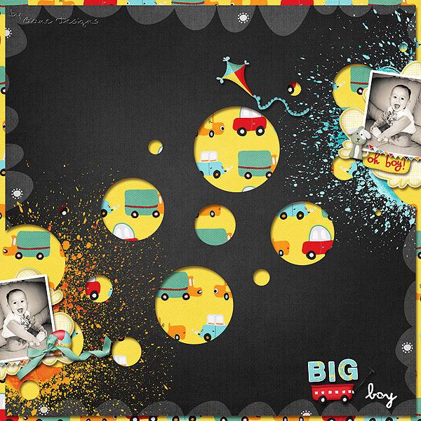 giane designer - big boy