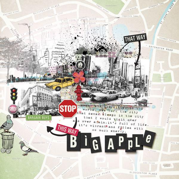 BIG APPLE by misslovescraps