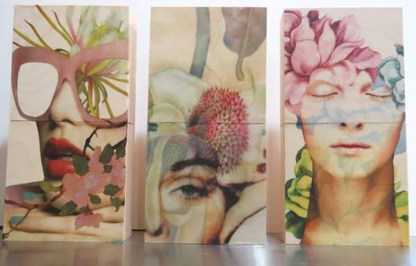 Feminine Floral Series 1, 2, 3 by Two Dresses Studio