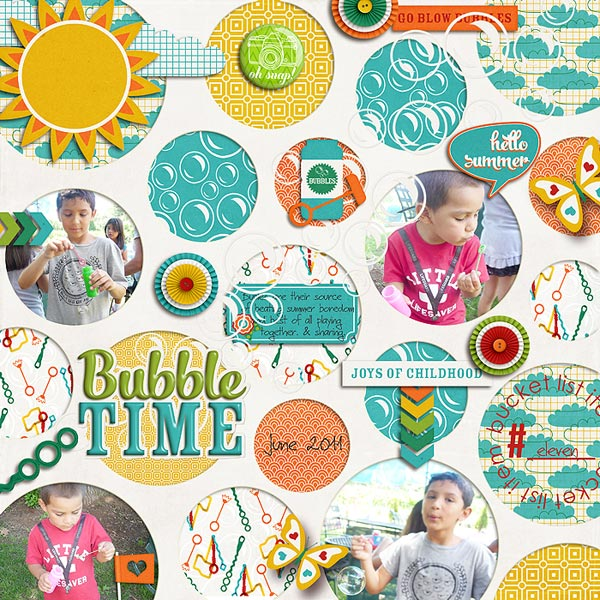 marnel - bubble time