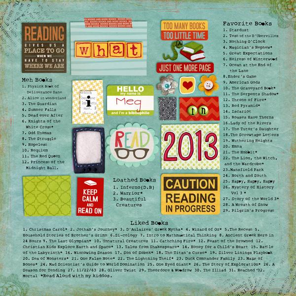 readinglist2013 megscraps tlp