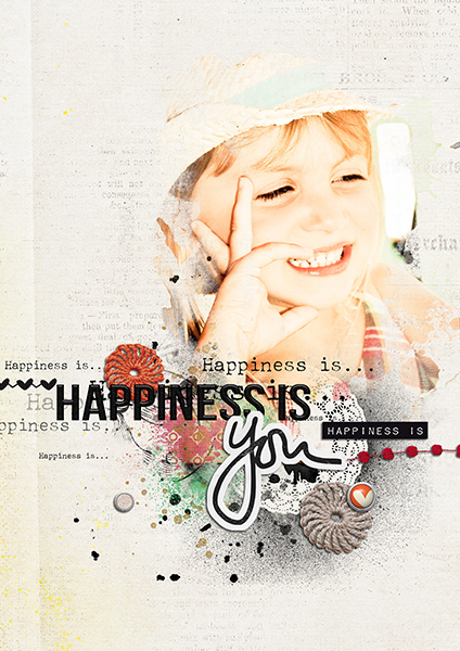 Happiness is you