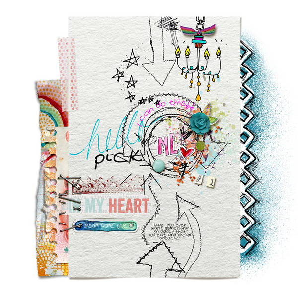 Finger Pointing- Gallery Standouts May 26 |  hello pick me by misslovescraps