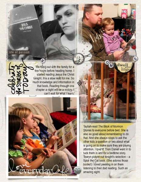 Week in the Life Sunday Page 3