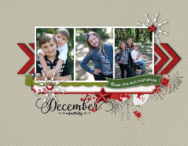 December Calendar Topper by Starlite9711