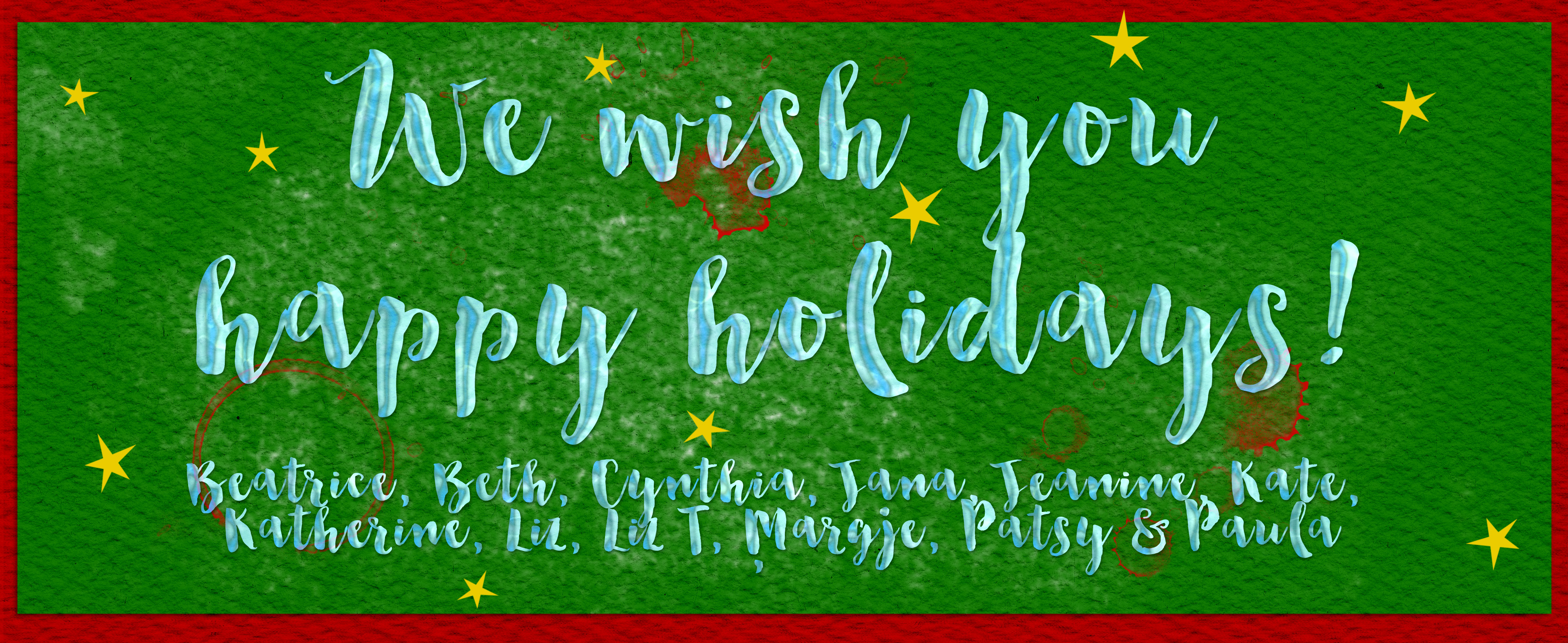 Happy Holidays 2015 GSO blog